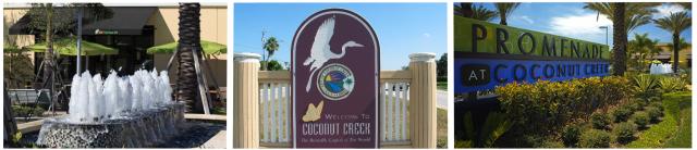 coconut creek, florida welcome